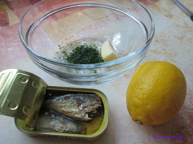 Citrons farcis sardines