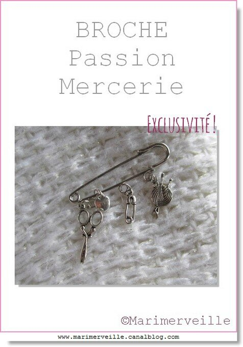 broche passion mercerie Marimerveille