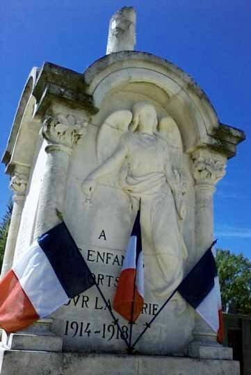 Le monument aux morts 2014