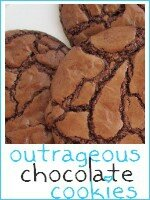 outrageous chocolate cookies - index