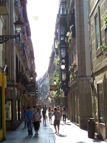 San Sebastian-ruelle Casco Viejo