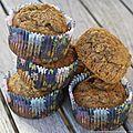 Muffins légers et riches en fibres
