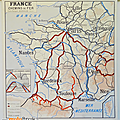 Collection ... affiche france chemins de fer / routes et voies aériennes