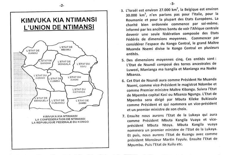 LA REFORME DE LA PROVINCE DU KONGO CENTRAL b