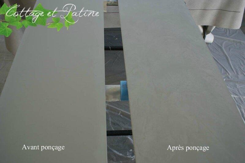 Cottage et Patine plan de travail béton ciré Libéron_4