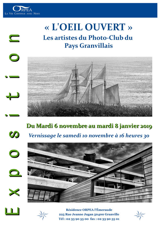AFFICHE EXPO ORPEA