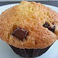 Petits cakes moelleux au zeste d'orange et chunks de chocolat noir