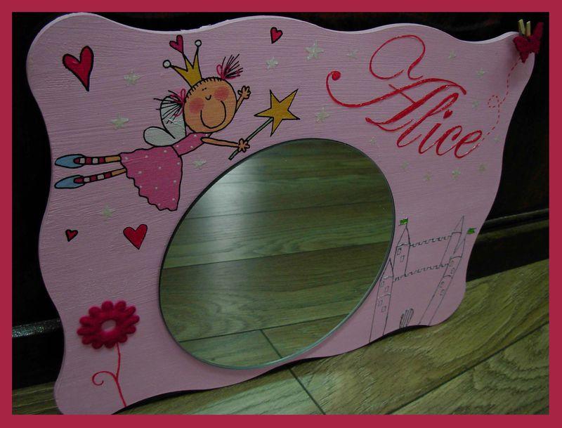 miroir fée Alice