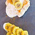 Quand le saumon et la banane se marient dans un lait de coco ^^