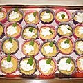 Cupcakes courgettes / ricotta