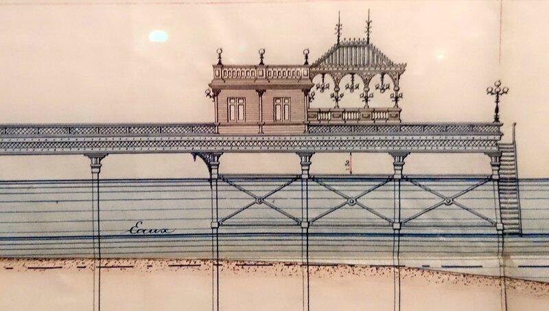 1882_Projet de jetée promenade à Arcachon_detail