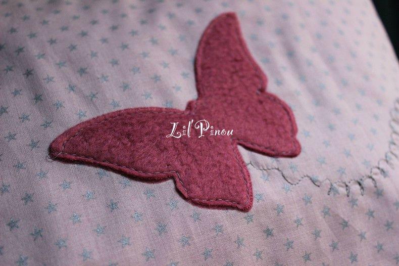 Snood col écharpe enfant Papillon