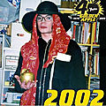 Moment captured: michael jackson au golden apple comics store de los angeles, en 2002