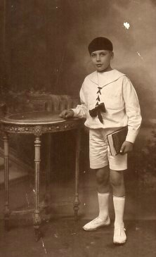 Armand Kleinholtz enfant Augustine