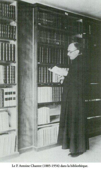Antoine Chantre père jésuite