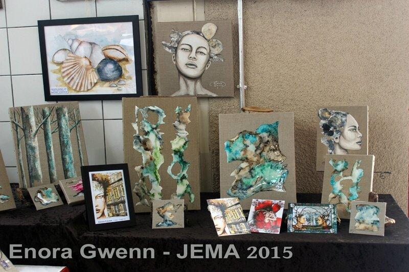JEMA 2015 - Enora Gwenn - Peinture et Créations (5)