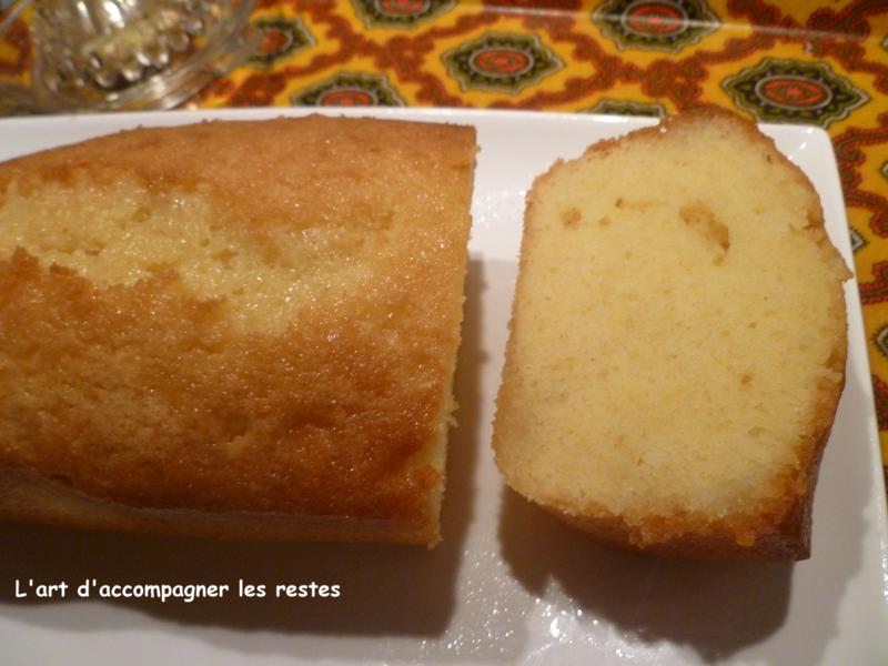 Cake au citron extra moelleux de Pierre Hermé2