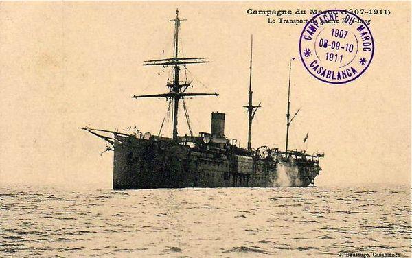 transport de guerre Maroc 1907