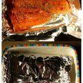 Dos de saumon en papillotte