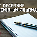 Tenir un journal