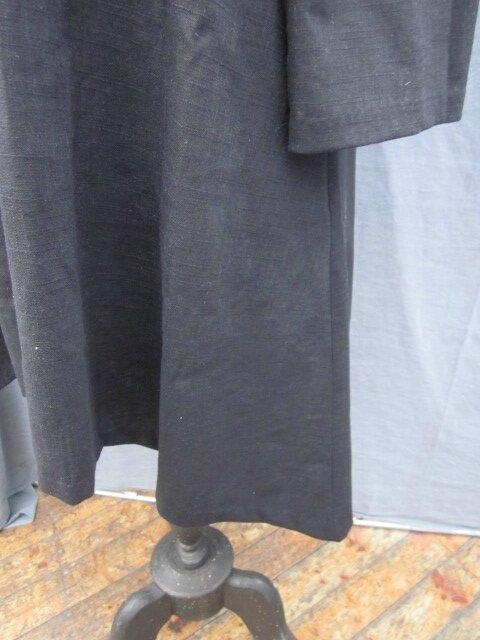 Tunique EDMEE en lin noir (1)
