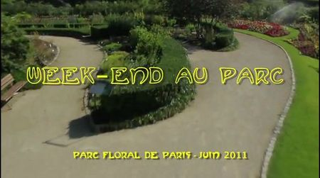 week end au parc floral 2011