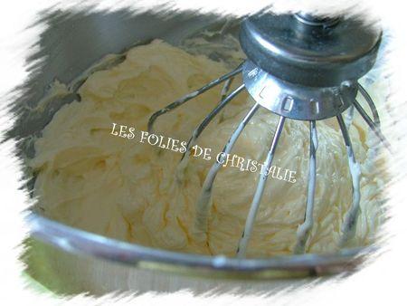 Crème au beurre 11