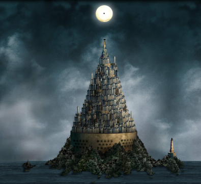Tour de Babel illustration web