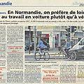 Idée reçue: en normandie le vélo est plus populo que bobo