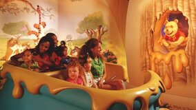 L'attraction The Many Adventures of Winnie the Pooh à Walt Disney World