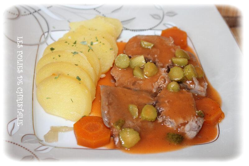 Langue de porc sauce piquante 3