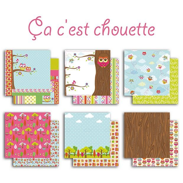 Collection papiers 30.5*30.5