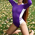 N-015 Purple credit photo swimsuit heaven