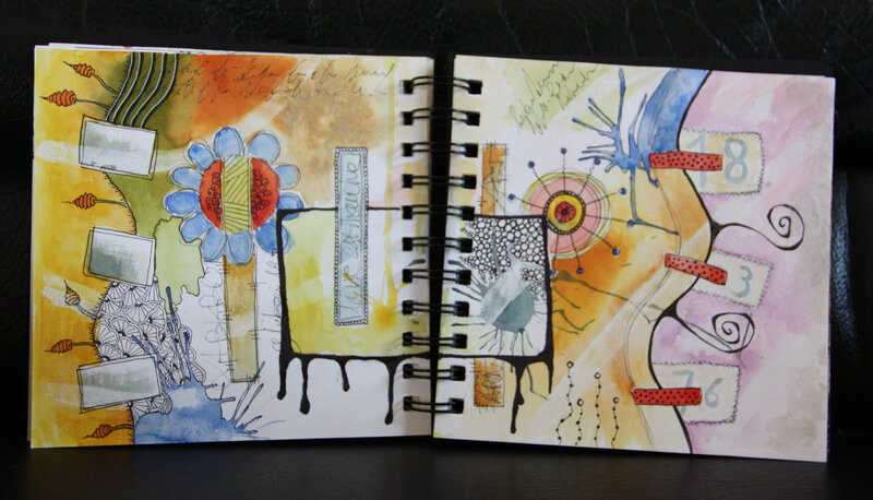 art journal gribouille 3