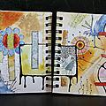 art journal gribouille 3