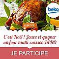 Marmiton propose un super jeu concours: jouez et gagner un four multi-cuisson beko!