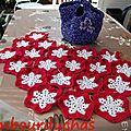 plaid snowflake afghan # 1