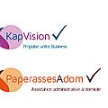 Logos KapVision et PaperassesAdom