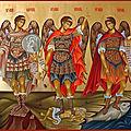 Fête des saints archanges michel, gabriel et raphaël