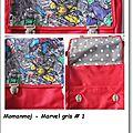 Sac Marvel gris #1