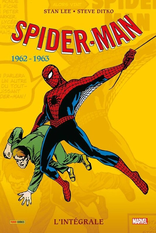 intégrale spiderman 1962-63 réed