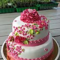 Wedding cake anniversaire...