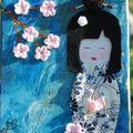 Inspiration japon : peinture n°2