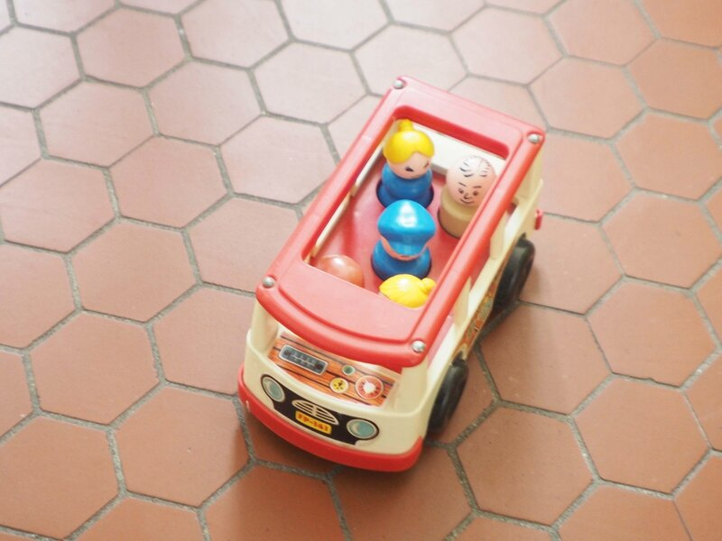 3-bus-fisher-price-vintage-ma-rue-bric-a-brac