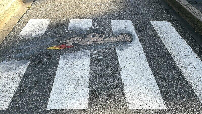 Bayonne, Street Art Point de vue, passage piéton (64)