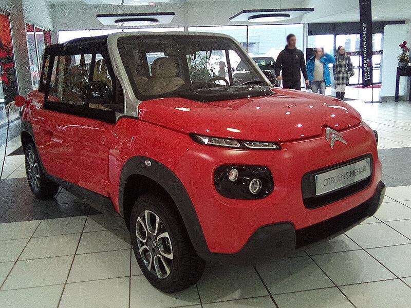 CITROËN E-Mehari cabriolet électrique Haguenau (1)