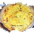 Tarte lardons-oignons