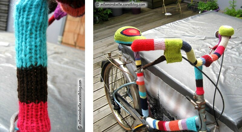 yarn bombing custom bike
