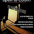 Open to court - 4ème édition - film de genre