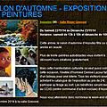 Expo de peinture à anjoutey ce week-end